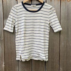 Madewell knit cotton T-shirt , S